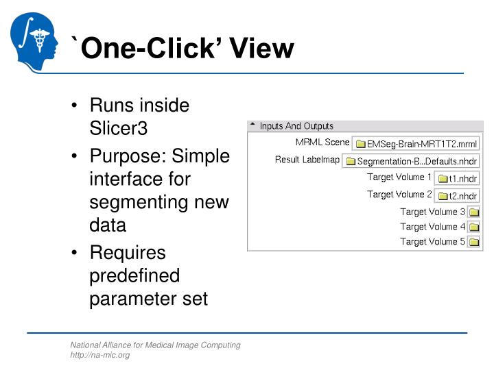 `One-Click' View