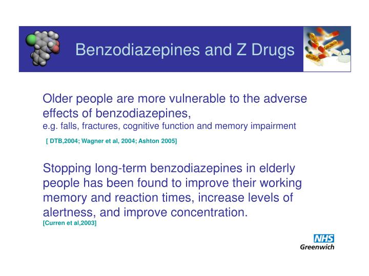 Benzodiazepines and z drugs1