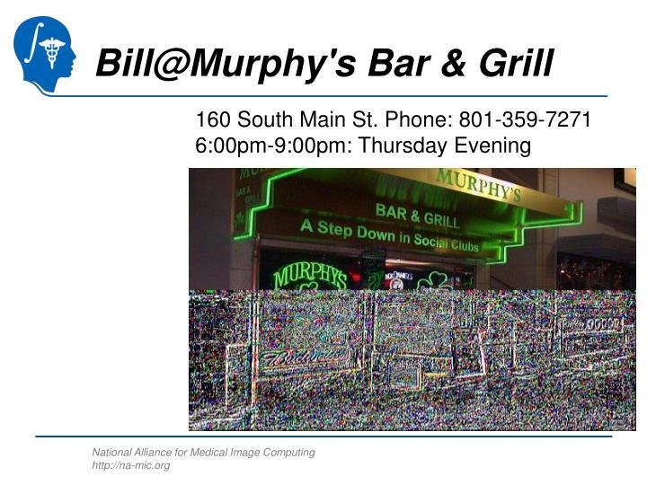 Bill@Murphy's Bar & Grill
