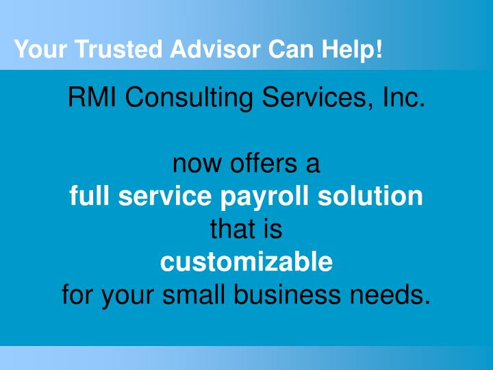 RMI Consulting Services, Inc.