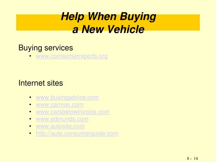 Buying services