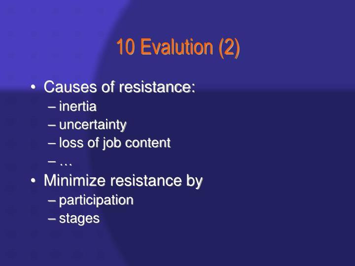 10 Evalution (2)