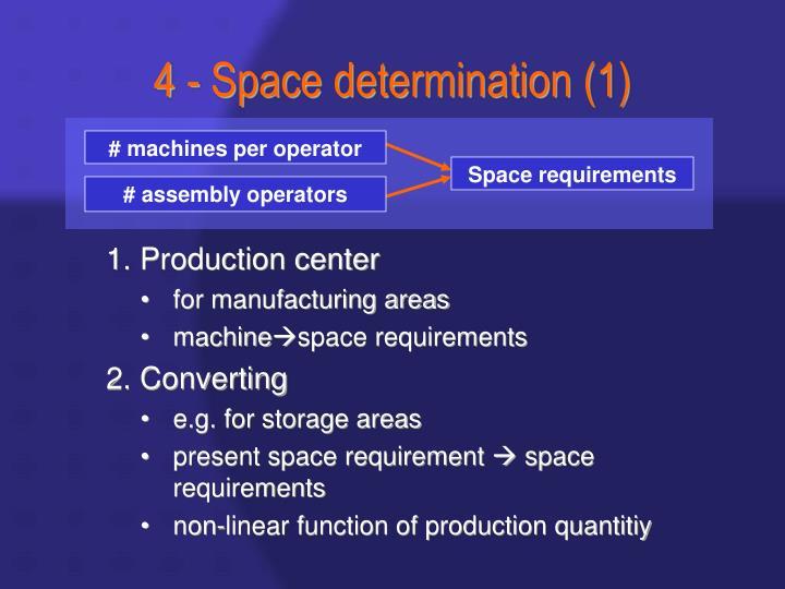 # machines per operator