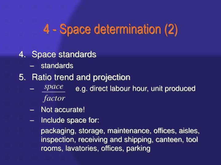 4 - Space determination (2)