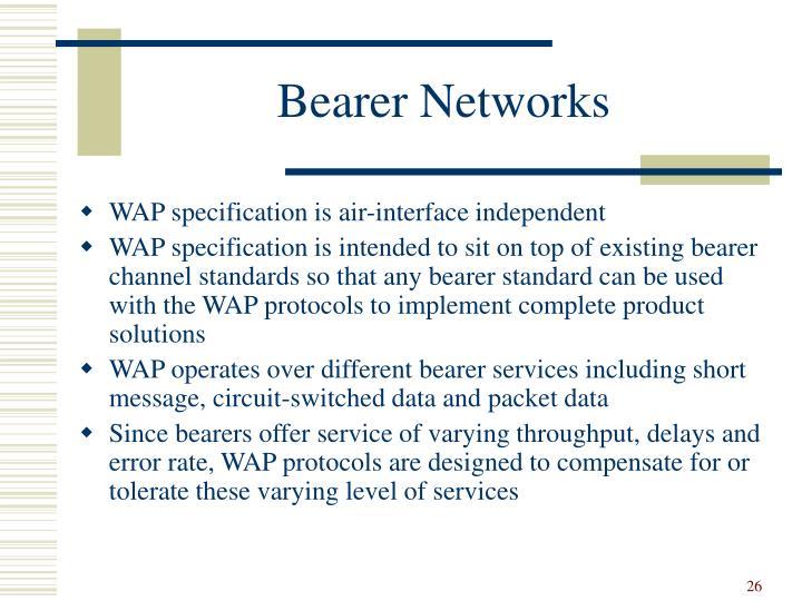 Bearer Networks
