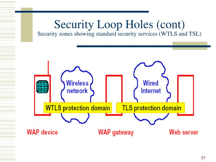 Security Loop Holes (cont)