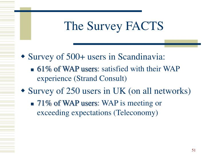 The Survey FACTS