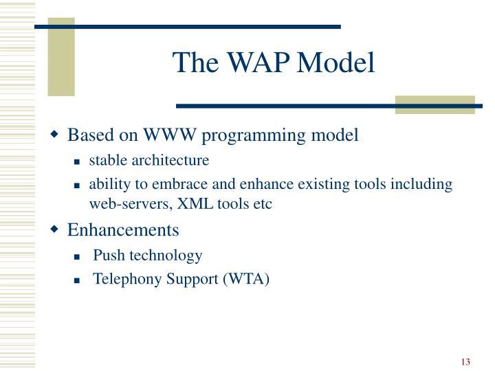The WAP Model