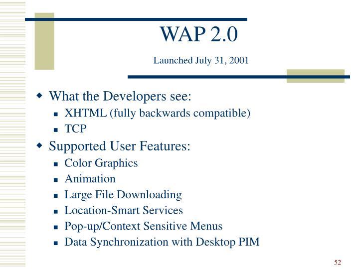 WAP 2.0