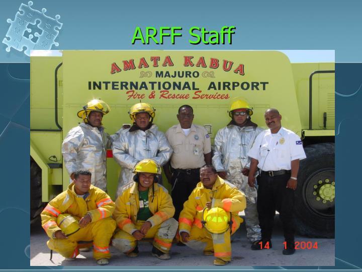 ARFF Staff