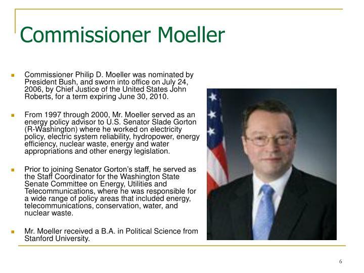 Commissioner Moeller