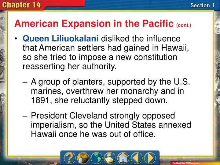 American Expansion in the Pacific