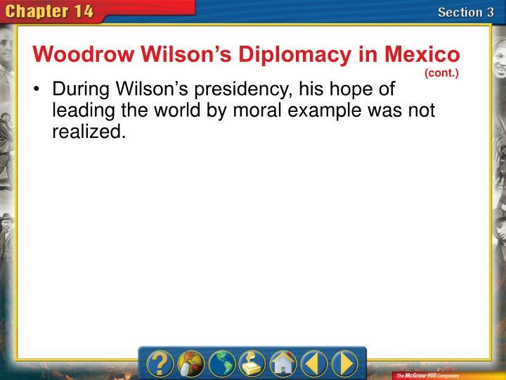 Woodrow Wilson's Diplomacy in Mexico