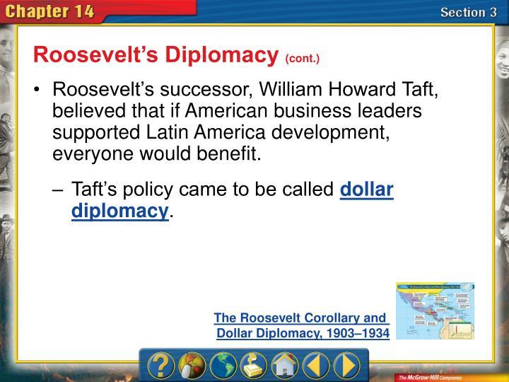 Roosevelt's Diplomacy