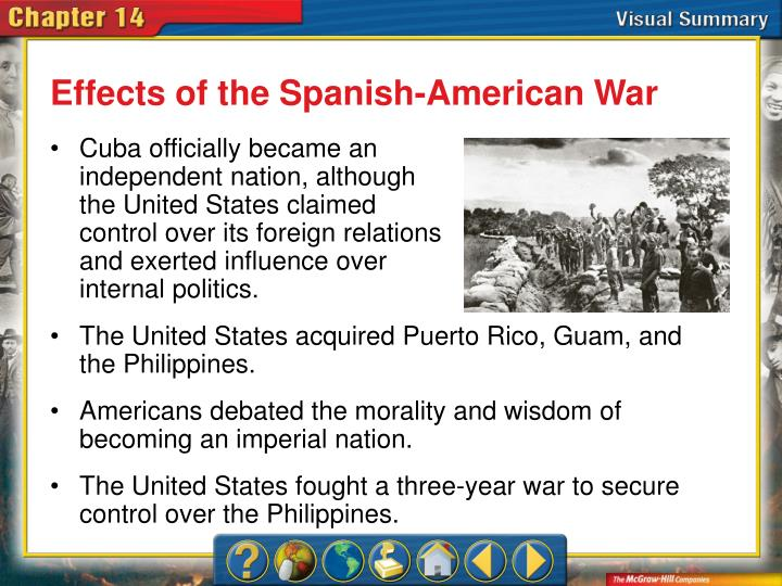 Effects of the Spanish-American War
