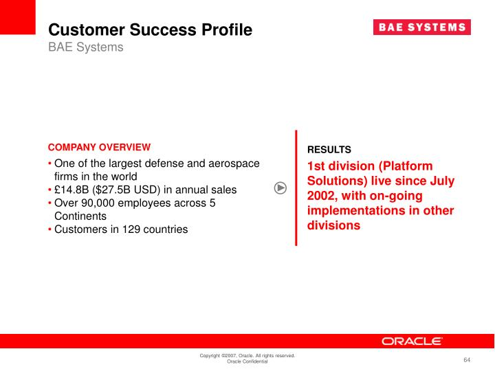Customer Success Profile