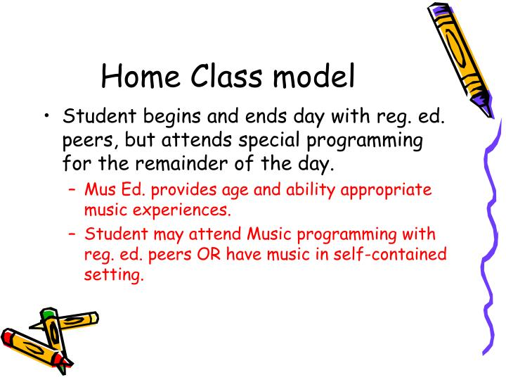 Home Class model