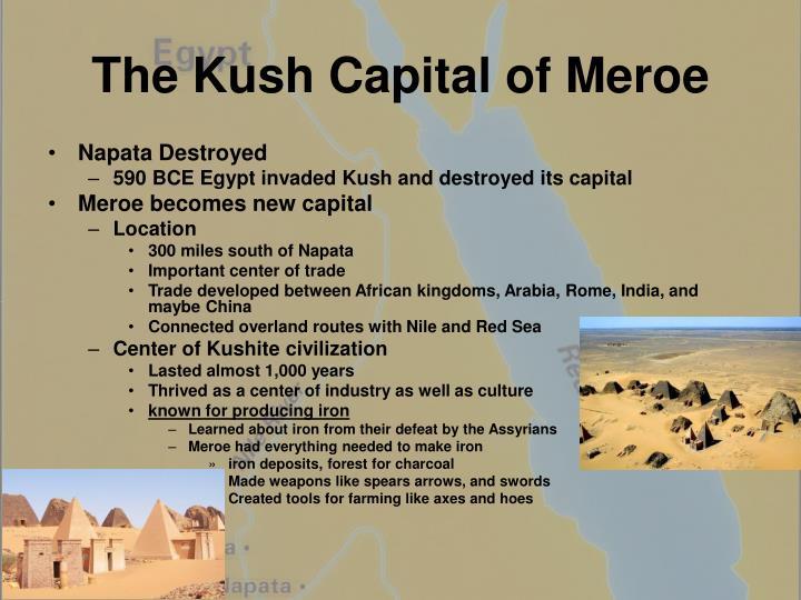 The Kush Capital of Meroe