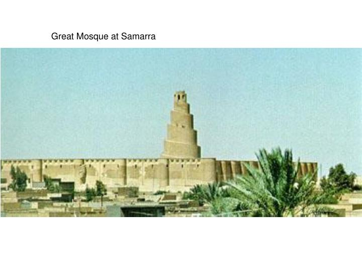 Great Mosque at Samarra