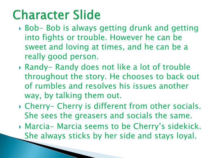 Character Slide