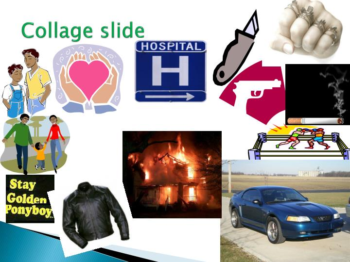 Collage slide