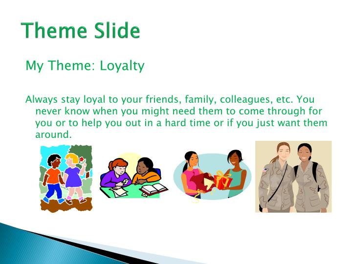Theme Slide