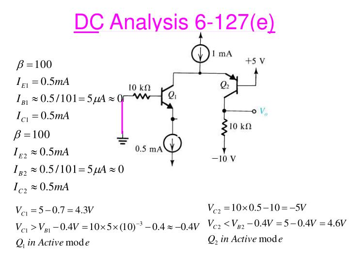 DC Analysis 6-127(e)