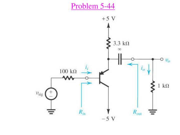Problem 5-44