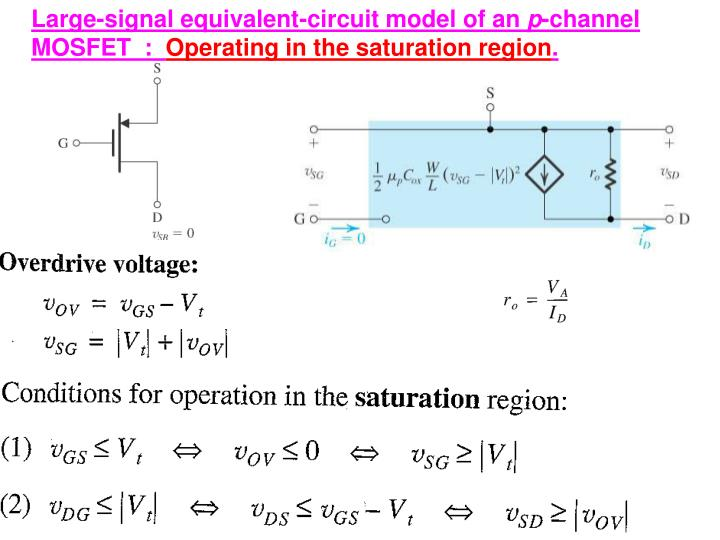 Large-signal equivalent-circuit model of an