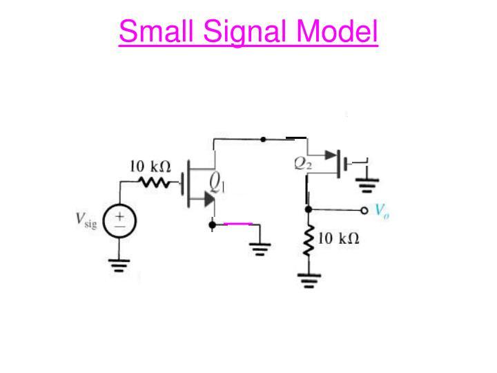 Small Signal Model