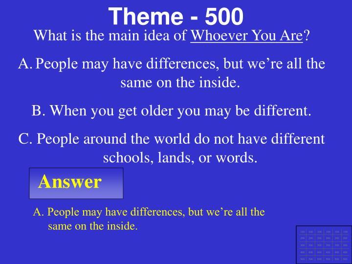 Theme - 500