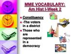 mme vocabulary am hist i week 22