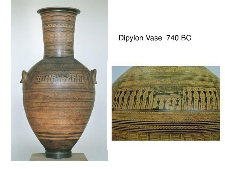 Dipylon Vase  740 BC