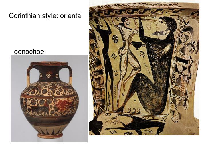 Corinthian style: oriental