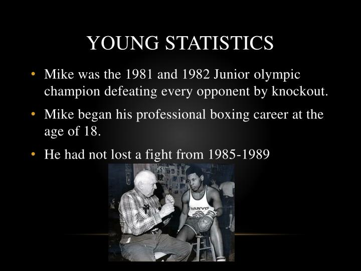 Young statistics
