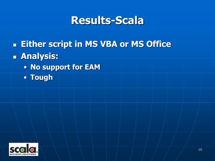 Results-Scala