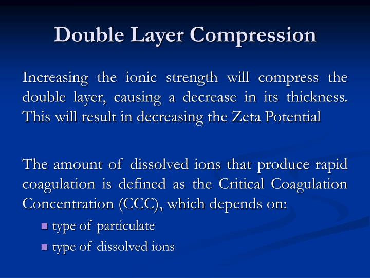 Double Layer Compression