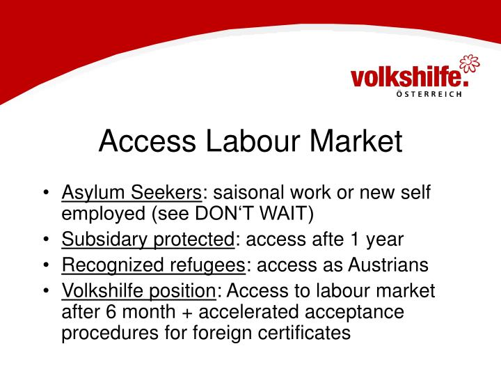 Access Labour Market