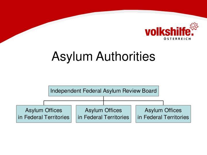 Asylum Authorities