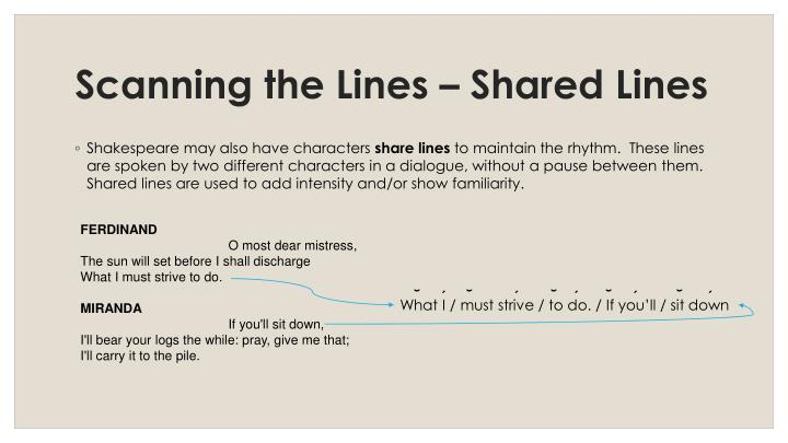 Scanning the Lines – Shared Lines