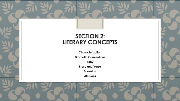 Section 2: