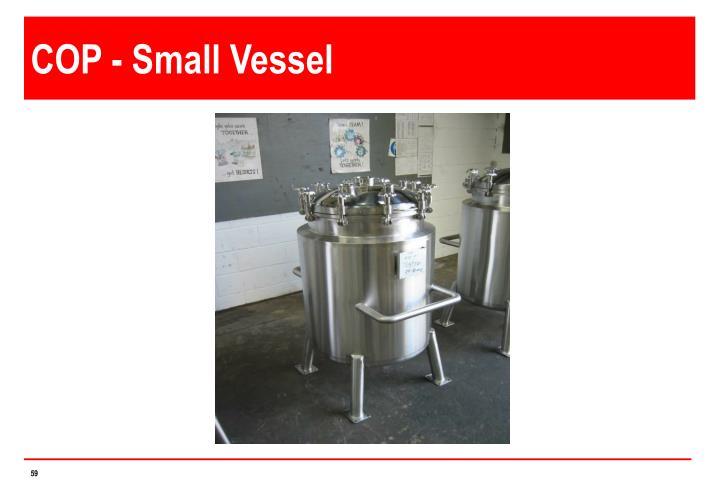 COP - Small Vessel