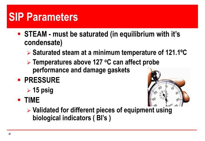 SIP Parameters