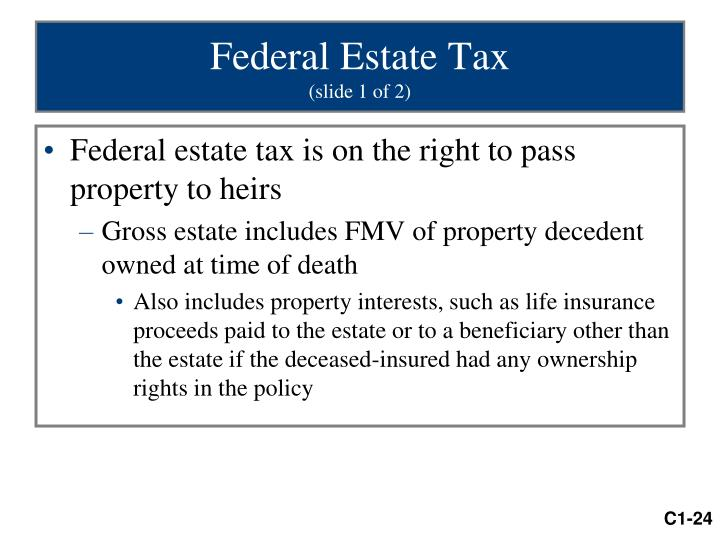 Federal Estate Tax
