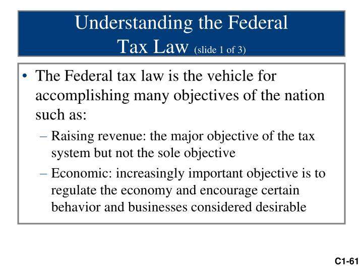 Understanding the Federal