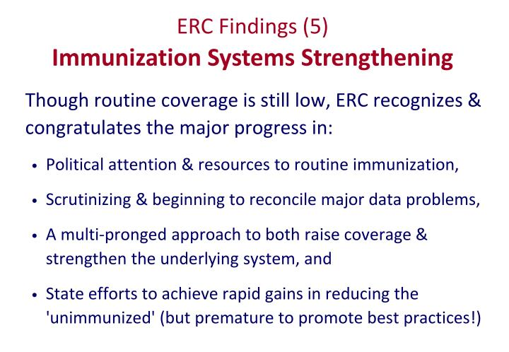 ERC Findings (5)
