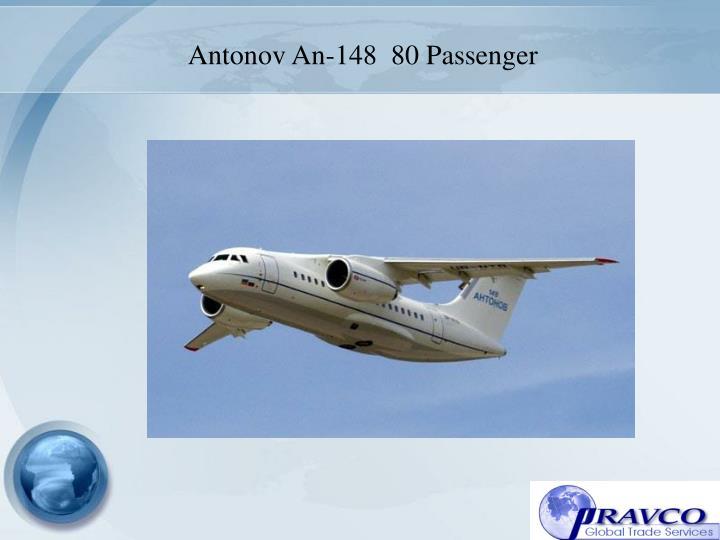 Antonov An-148  80 Passenger