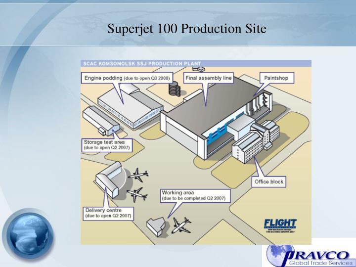 Superjet 100 Production Site