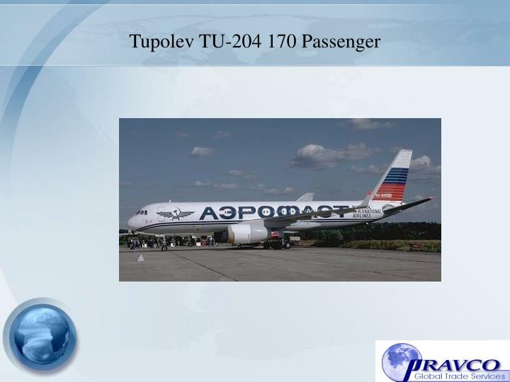 Tupolev TU-204 170 Passenger
