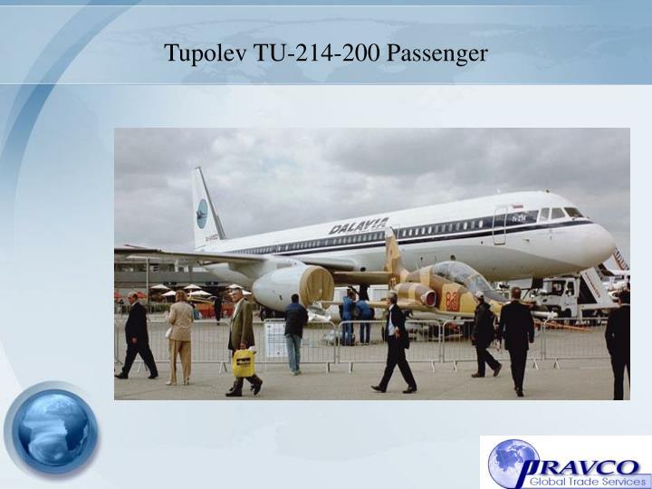 Tupolev TU-214-200 Passenger